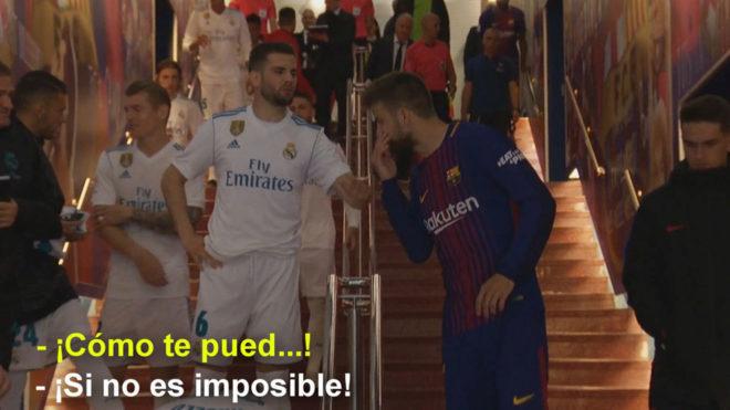 d403cbae9 Real Madrid: Nacho explica el incidente con Piqué: