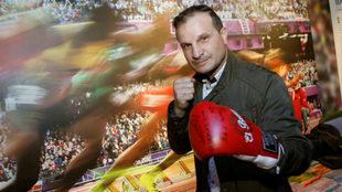 El exboxeador Javier Castillejo.