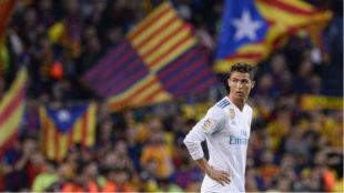 Ronaldo, en el Barcelona-Real Madrid.