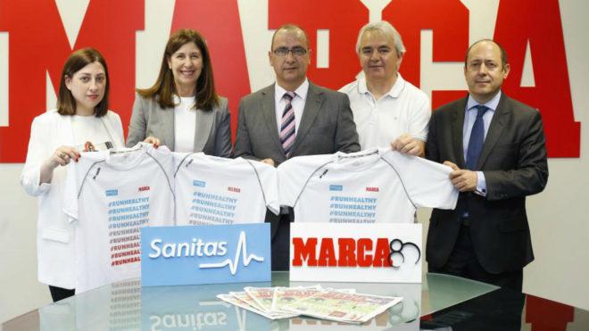 Judit Bermejo y Yolanda Erburu (Sanitas), Juan Ignacio Gallardo...