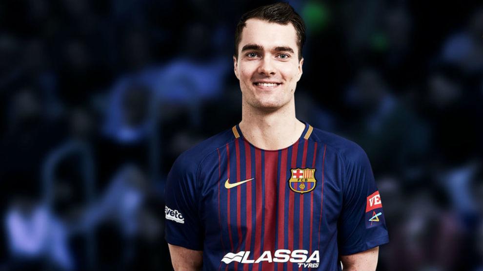Casper Mortensen, nuevo jugador del Barcelona /