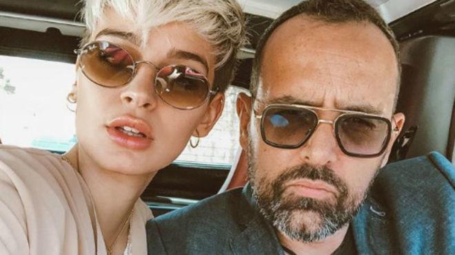 Risto Mejide junto a su mujer, Laura Escanes