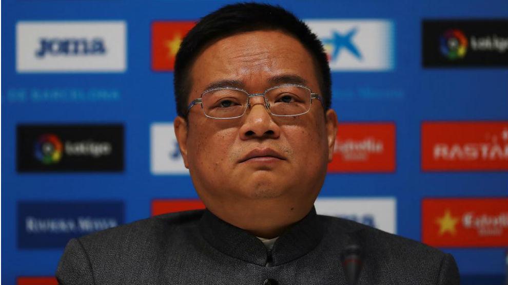 El presidente Chen Yansheng.