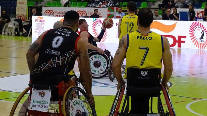Semifinal entre Bidaideak e ILUNION.