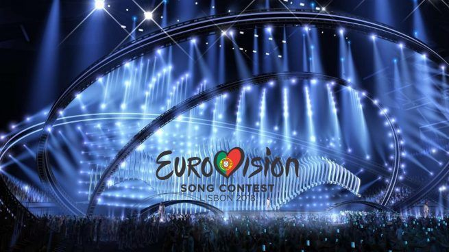 Escenario del Altice Arena de Lisboa que acogerá la final de...