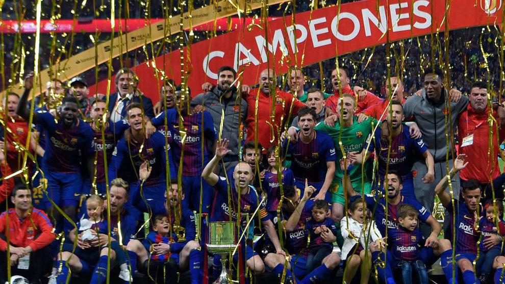 Los equipos celebran más los títulos con los hijos que con la...
