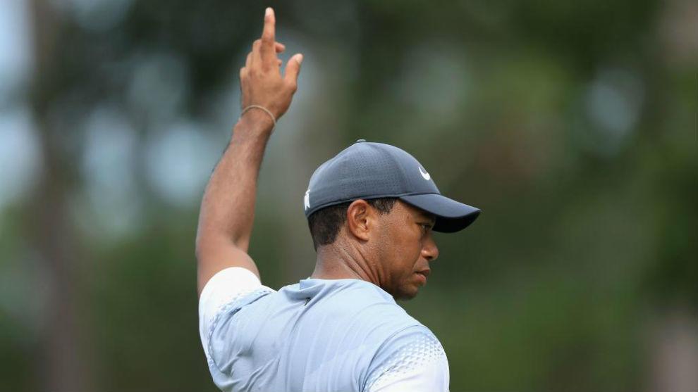 Tiger Woods, durante la tercera jornada de The Players.
