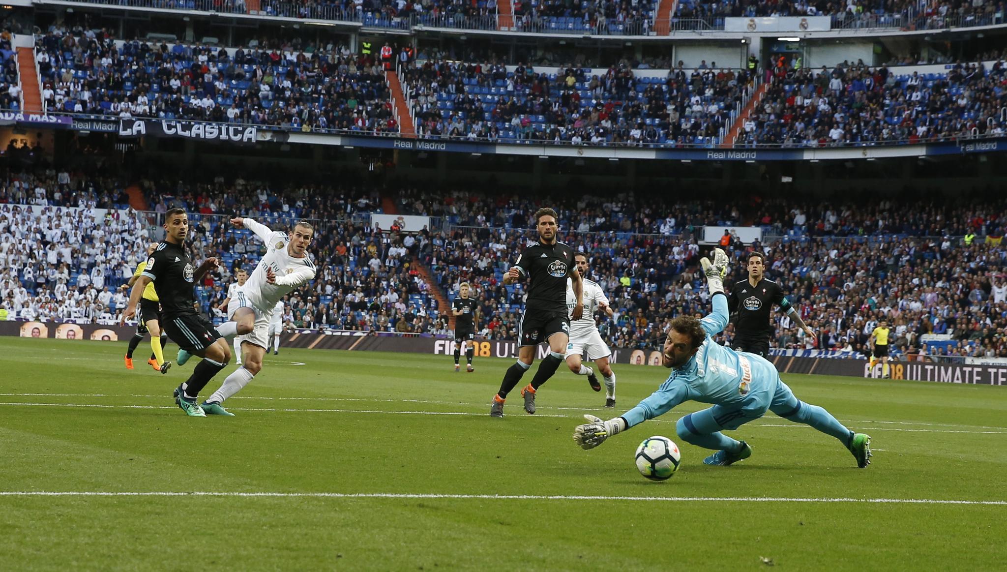 En vivo: Real Madrid contra Celta de Vigo