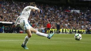 Bale marca el segundo tras este zurdazo.