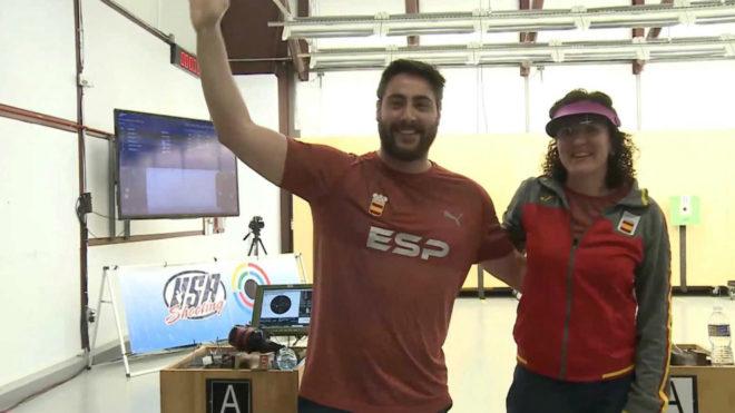 Pablo Carrera y Sonia Franquet celebran su triunfo.