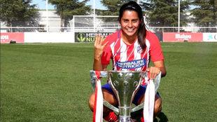 Se convirtió en bicampeona con el Atlético de Madrid