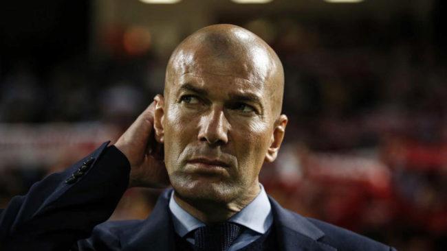 Zidane, en un partido esta temporada.