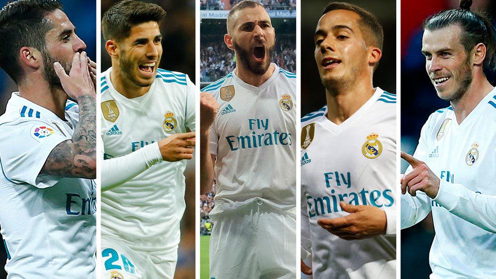 hàng công của Real Madrid ở trận chung kết Champions League