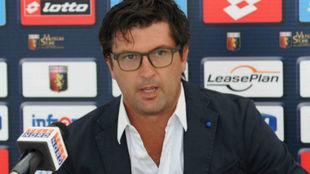 El italiano Omar Milanetto.