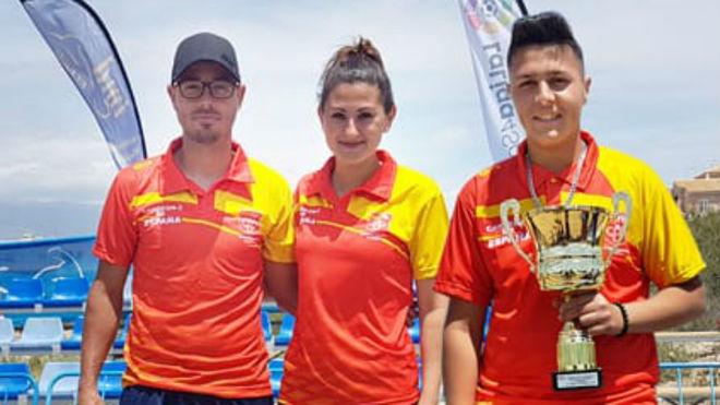 Los campeones de España.