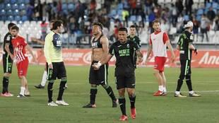 Machís 'explota' al final del partido en el Juegos...