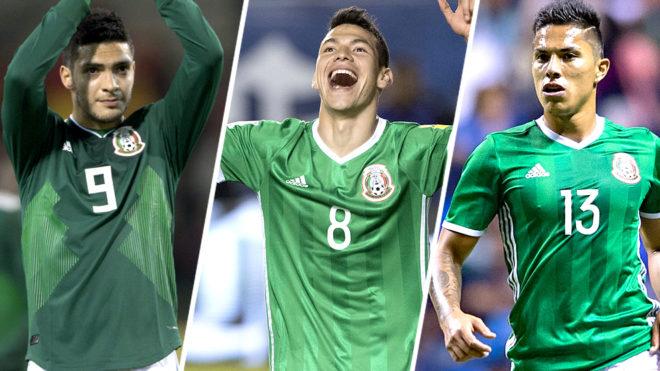 La lista más 'europea' de México en la historia de los  Mundiales