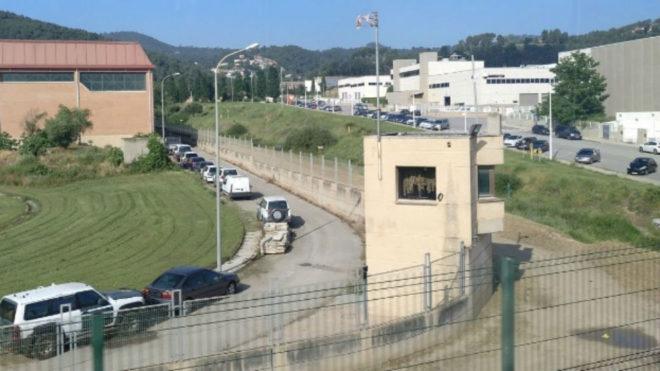 Imagen del cuartel de la Guardia Civil de Sant Andreu de la Barca