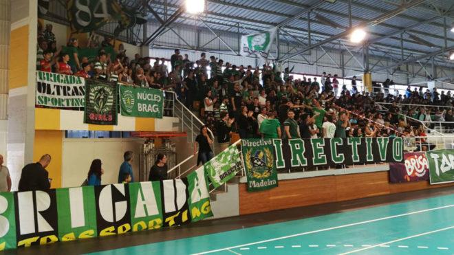 Los aficionados del Sporting Lisboa