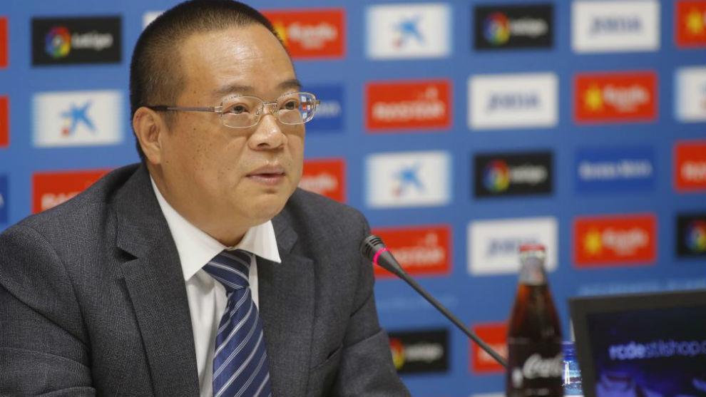 Chen Yansheng, durante una rueda de prensa.