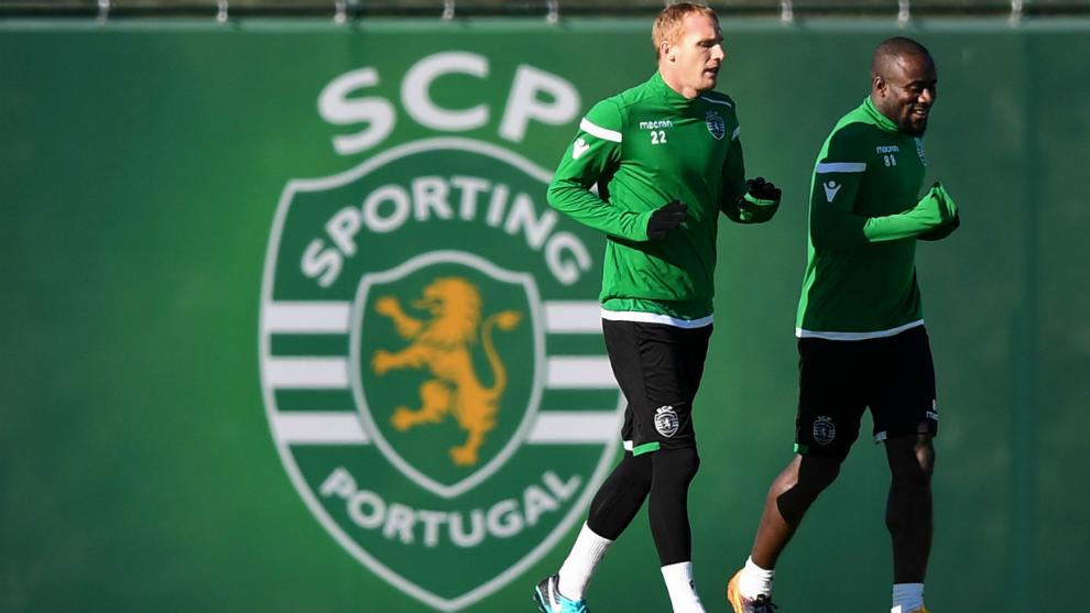 Entrenamiento del Sporting CP
