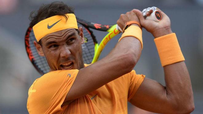 Rafa Nadal en el pasado Mutua Madrid Open.
