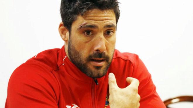 Jaime Nava en una rueda de prensa.