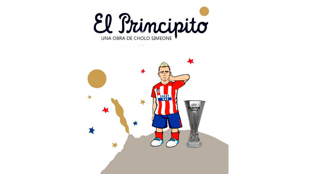 The little prince, a Cholo Simeone piece of work