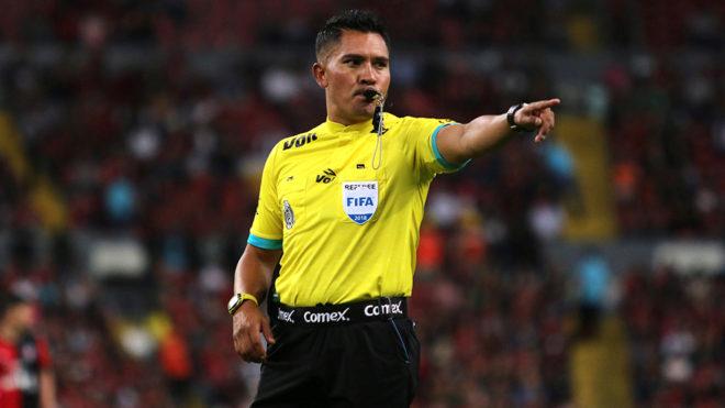 Guerrero, en una de sus tantas participaciones dentro del Clausura...