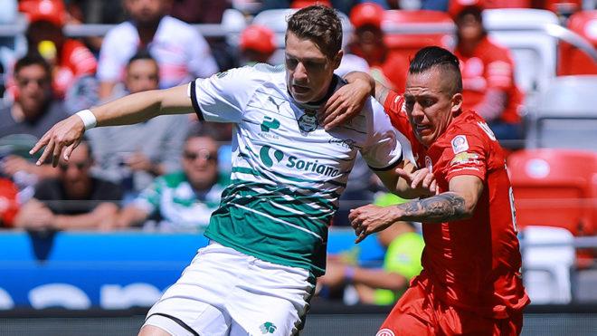 En la jornada 8 del actual torneo, los Diablos derrotaron 2-0 a Santos...
