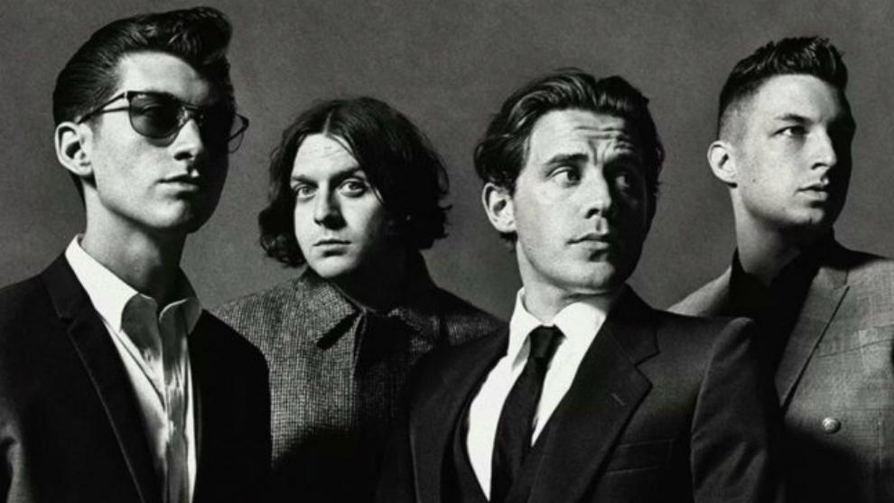 La banda británica de rock Arctic Monkeys