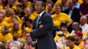 Dwane Casey, ex técnico de los Raptors