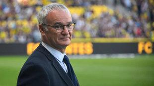 Ranieri, con el Nantes.