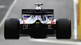 Trasera del Toro Rosso STR13 Honda