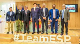 Presentación en el CSD del Campeonato de España de Ciclismo Adaptado
