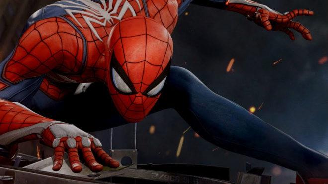 Spider Man Para Ps4 Prepara Un Brutal Mural Publicitario Para El E3