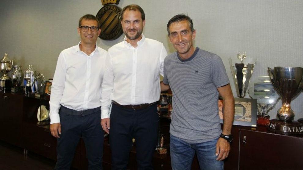 Fran Navarro, Óscar Perarnau y Álex García.