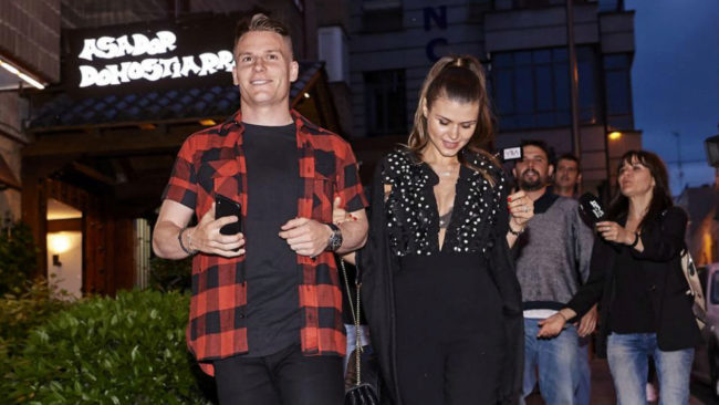 Gameiro attends Atletico's dinner... only to discover it had been cancelled!