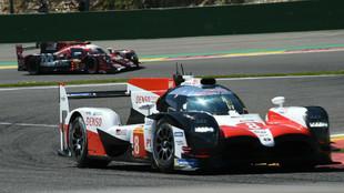 Toyota TS050 Hybrid, número 8 con el que competirán Alonso, Buemi y...