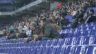 Imagen de la grada del RCDE Stadium