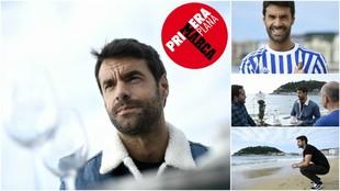 Xabi Prieto posa para el reportaje de Primera Plana (MARCA)