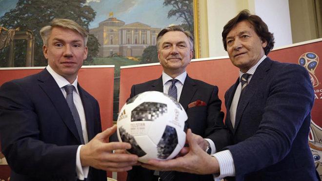 Alexei Sorokin, Yuri Korchagin y José Ramón Lete.