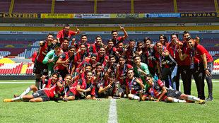El Atlas venció a su acérrimo rival en la final de la Liga MX Sub-15