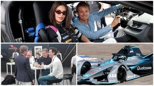 Emily Ratajkowski no quiso perderse el ePrix de Berlín de la Fórmula...