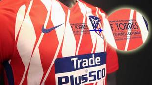 Atletico to pay homage to Fernando Torres on their shirt