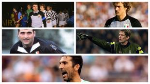 Los cinco porteros de la Juventus en los últimos 46 años