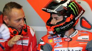 Lorenzo, en Le Mans.