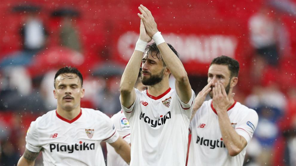Nico Pareja (34) se despide entre lágrimas del Sánchez-Pizjuán.