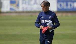 Natxo González, en un entrenamiento.