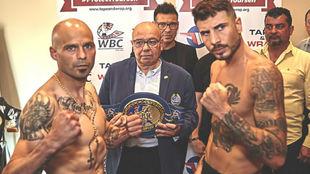 Los boxeadores, el día del pesaje